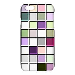 Color Tiles Abstract Mosaic Background iPhone 6/6S TPU Case