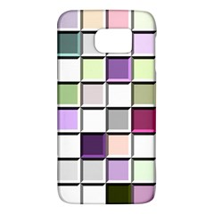 Color Tiles Abstract Mosaic Background Galaxy S6