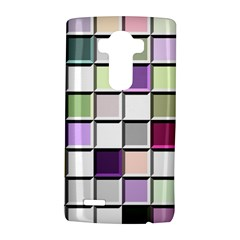 Color Tiles Abstract Mosaic Background LG G4 Hardshell Case