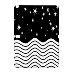 Black And White Waves And Stars Abstract Backdrop Clipart Galaxy Note 1