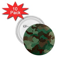 Camouflage Pattern A Completely Seamless Tile Able Background Design 1 75  Buttons (10 Pack)