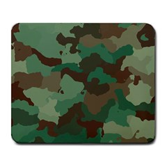 Camouflage Pattern A Completely Seamless Tile Able Background Design Large Mousepads