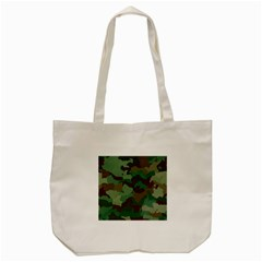 Camouflage Pattern A Completely Seamless Tile Able Background Design Tote Bag (Cream)