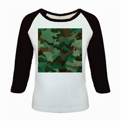 Camouflage Pattern A Completely Seamless Tile Able Background Design Kids Baseball Jerseys