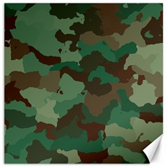 Camouflage Pattern A Completely Seamless Tile Able Background Design Canvas 20  X 20