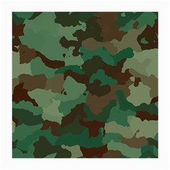 Camouflage Pattern A Completely Seamless Tile Able Background Design Medium Glasses Cloth (2 Side)