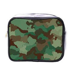 Camouflage Pattern A Completely Seamless Tile Able Background Design Mini Toiletries Bags