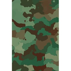 Camouflage Pattern A Completely Seamless Tile Able Background Design 5 5  X 8 5  Notebooks