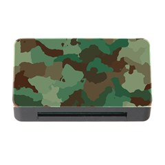 Camouflage Pattern A Completely Seamless Tile Able Background Design Memory Card Reader with CF