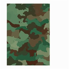 Camouflage Pattern A Completely Seamless Tile Able Background Design Small Garden Flag (two Sides)
