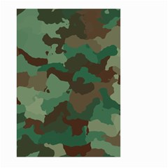 Camouflage Pattern A Completely Seamless Tile Able Background Design Large Garden Flag (two Sides)
