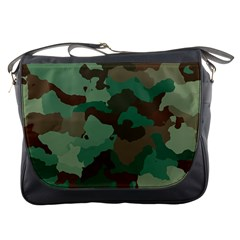 Camouflage Pattern A Completely Seamless Tile Able Background Design Messenger Bags