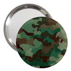 Camouflage Pattern A Completely Seamless Tile Able Background Design 3  Handbag Mirrors