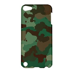 Camouflage Pattern A Completely Seamless Tile Able Background Design Apple iPod Touch 5 Hardshell Case