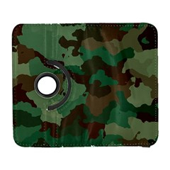 Camouflage Pattern A Completely Seamless Tile Able Background Design Galaxy S3 (Flip/Folio)