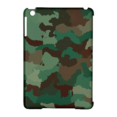 Camouflage Pattern A Completely Seamless Tile Able Background Design Apple iPad Mini Hardshell Case (Compatible with Smart Cover)