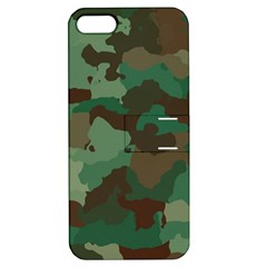 Camouflage Pattern A Completely Seamless Tile Able Background Design Apple iPhone 5 Hardshell Case with Stand