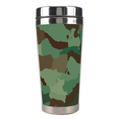 Camouflage Pattern A Completely Seamless Tile Able Background Design Stainless Steel Travel Tumblers