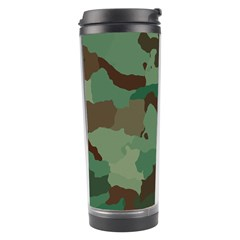 Camouflage Pattern A Completely Seamless Tile Able Background Design Travel Tumbler