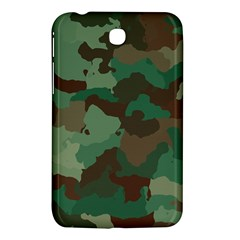 Camouflage Pattern A Completely Seamless Tile Able Background Design Samsung Galaxy Tab 3 (7 ) P3200 Hardshell Case