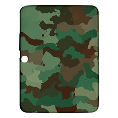 Camouflage Pattern A Completely Seamless Tile Able Background Design Samsung Galaxy Tab 3 (10 1 ) P5200 Hardshell Case