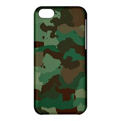 Camouflage Pattern A Completely Seamless Tile Able Background Design Apple iPhone 5C Hardshell Case