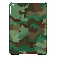 Camouflage Pattern A Completely Seamless Tile Able Background Design iPad Air Hardshell Cases