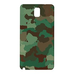 Camouflage Pattern A Completely Seamless Tile Able Background Design Samsung Galaxy Note 3 N9005 Hardshell Back Case