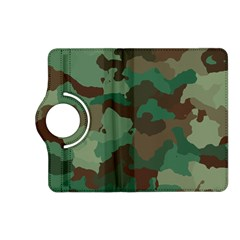 Camouflage Pattern A Completely Seamless Tile Able Background Design Kindle Fire HD (2013) Flip 360 Case
