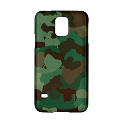 Camouflage Pattern A Completely Seamless Tile Able Background Design Samsung Galaxy S5 Hardshell Case