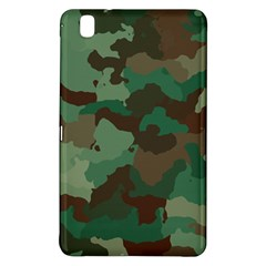 Camouflage Pattern A Completely Seamless Tile Able Background Design Samsung Galaxy Tab Pro 8 4 Hardshell Case