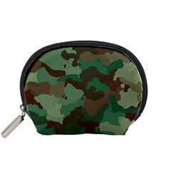 Camouflage Pattern A Completely Seamless Tile Able Background Design Accessory Pouches (Small)