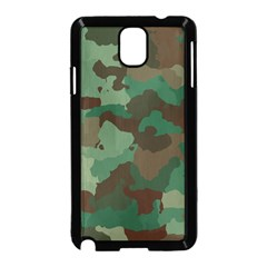 Camouflage Pattern A Completely Seamless Tile Able Background Design Samsung Galaxy Note 3 Neo Hardshell Case (Black)