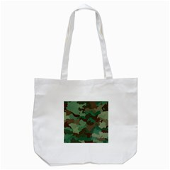 Camouflage Pattern A Completely Seamless Tile Able Background Design Tote Bag (white)