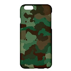 Camouflage Pattern A Completely Seamless Tile Able Background Design Apple Iphone 6 Plus/6s Plus Hardshell Case