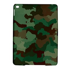 Camouflage Pattern A Completely Seamless Tile Able Background Design iPad Air 2 Hardshell Cases