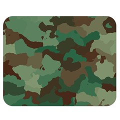 Camouflage Pattern A Completely Seamless Tile Able Background Design Double Sided Flano Blanket (Medium)