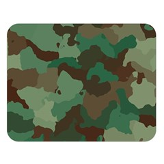 Camouflage Pattern A Completely Seamless Tile Able Background Design Double Sided Flano Blanket (Large)