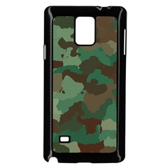 Camouflage Pattern A Completely Seamless Tile Able Background Design Samsung Galaxy Note 4 Case (black)