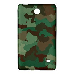 Camouflage Pattern A Completely Seamless Tile Able Background Design Samsung Galaxy Tab 4 (8 ) Hardshell Case