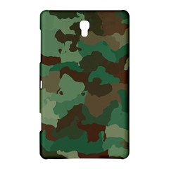 Camouflage Pattern A Completely Seamless Tile Able Background Design Samsung Galaxy Tab S (8 4 ) Hardshell Case