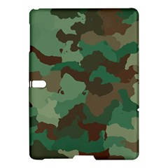 Camouflage Pattern A Completely Seamless Tile Able Background Design Samsung Galaxy Tab S (10.5 ) Hardshell Case