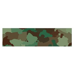 Camouflage Pattern A Completely Seamless Tile Able Background Design Satin Scarf (Oblong)