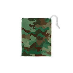 Camouflage Pattern A Completely Seamless Tile Able Background Design Drawstring Pouches (XS)