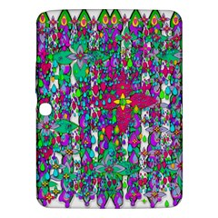 Sunny Roses In Rainy Weather Pop Art Samsung Galaxy Tab 3 (10 1 ) P5200 Hardshell Case