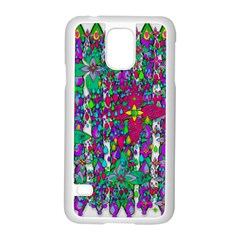 Sunny Roses In Rainy Weather Pop Art Samsung Galaxy S5 Case (white)