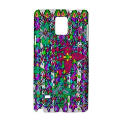 Sunny Roses In Rainy Weather Pop Art Samsung Galaxy Note 4 Hardshell Case