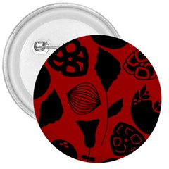 Congregation Of Floral Shades Pattern 3  Buttons