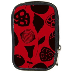 Congregation Of Floral Shades Pattern Compact Camera Cases
