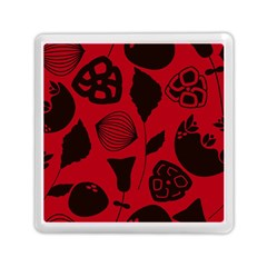 Congregation Of Floral Shades Pattern Memory Card Reader (square)
